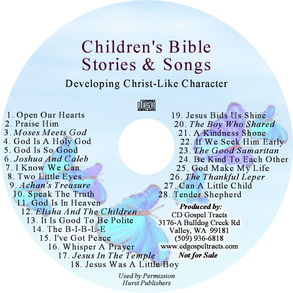 childrens bible stories and songs