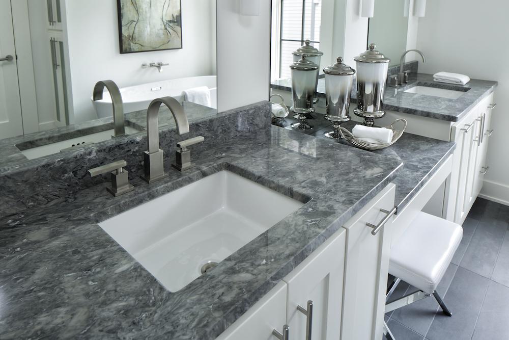 Bathroom Granite Countertop  CD Granite