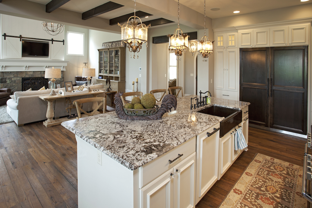 Granite Countertops in Kitchens  Granite Backsplash