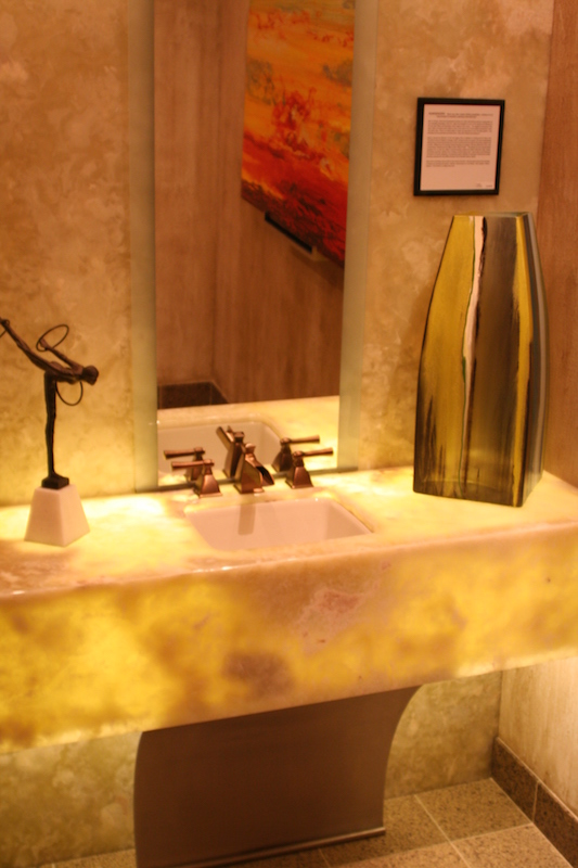 Natural Stone Countertop with Light  CD Granite