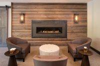 One piece granite fireplace by C&D Granite Orono MN