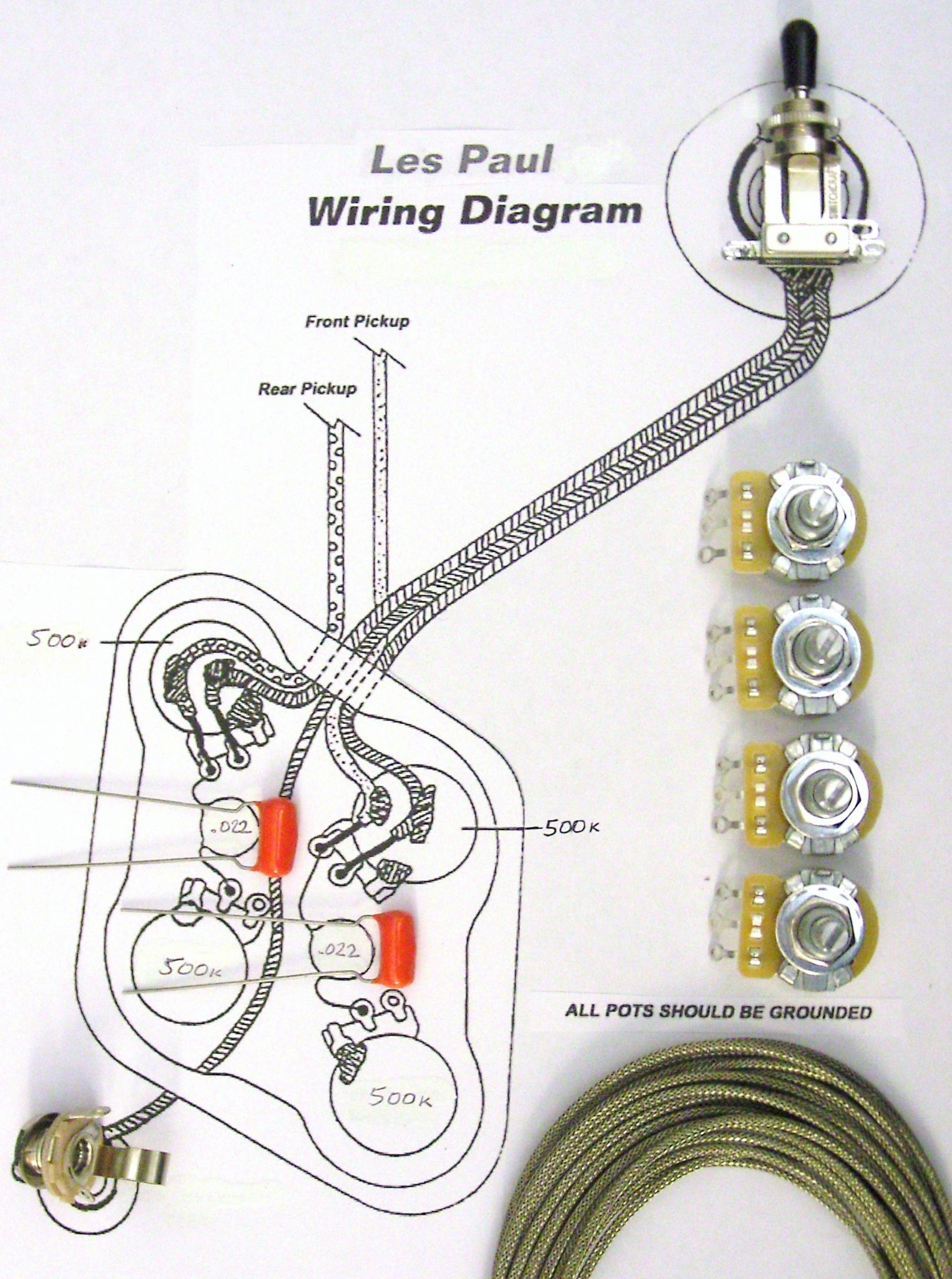 hight resolution of le paul wiring kit