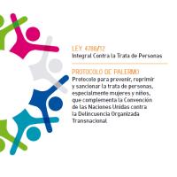Ley Integral contra la trata de personas 4788-12 + Protocolo de Palermo