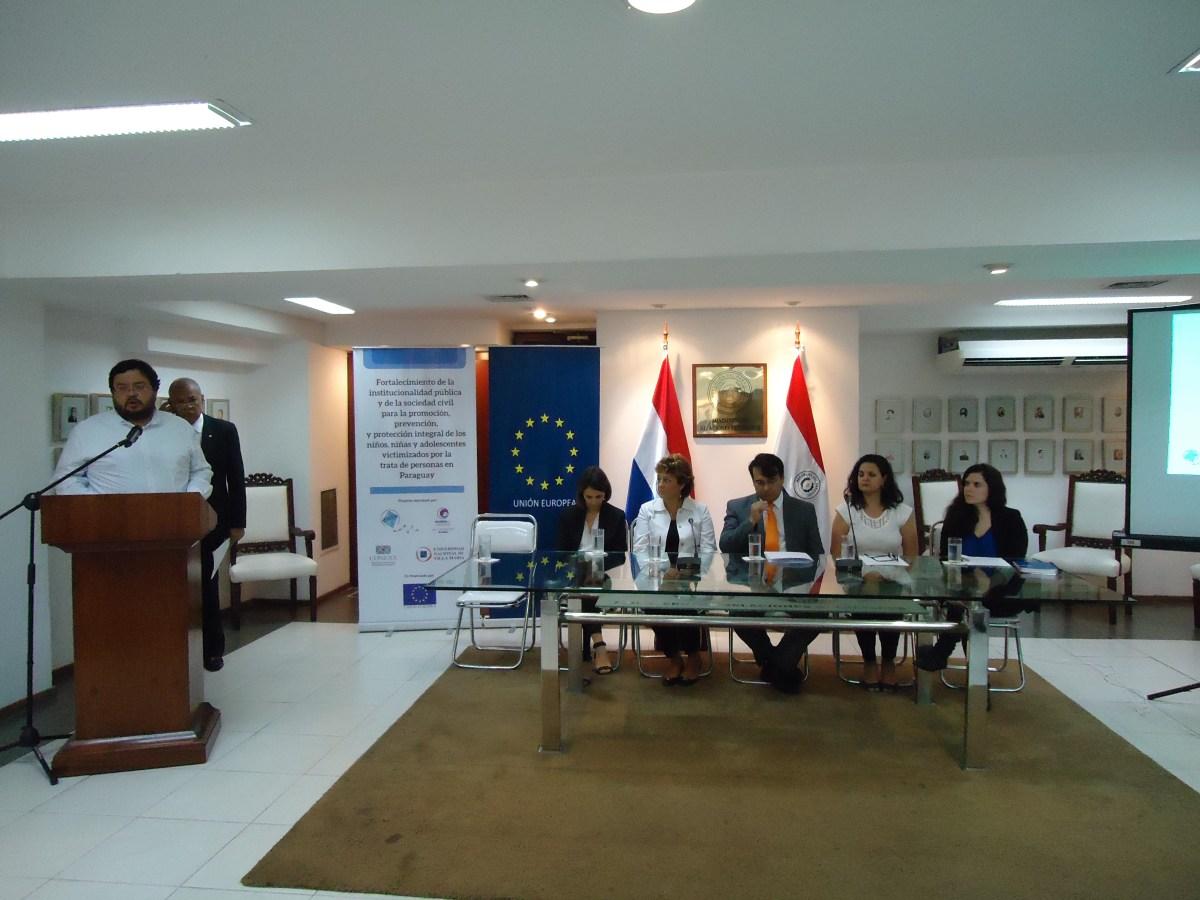 Presentan proyecto sobre trata de NNA en Paraguay
