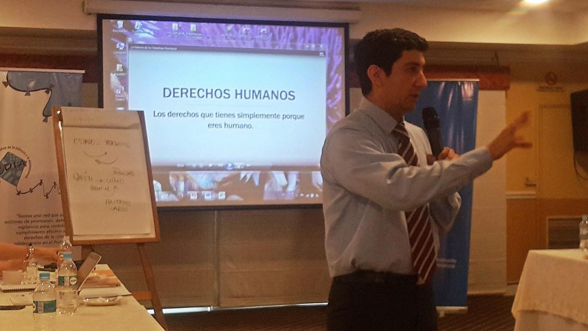 Taller para el fortalecimiento de capacidades de organizaciones defensoras de DDHH