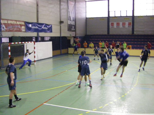juenil masculino, Iplacea-Carabanchel, balonmano