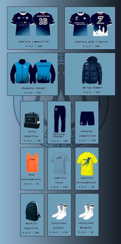 Merchandising del Club Deportivo Iplacea