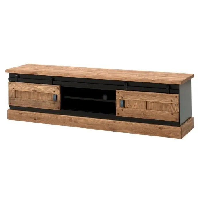 meuble tv industriel 180 cm rexton