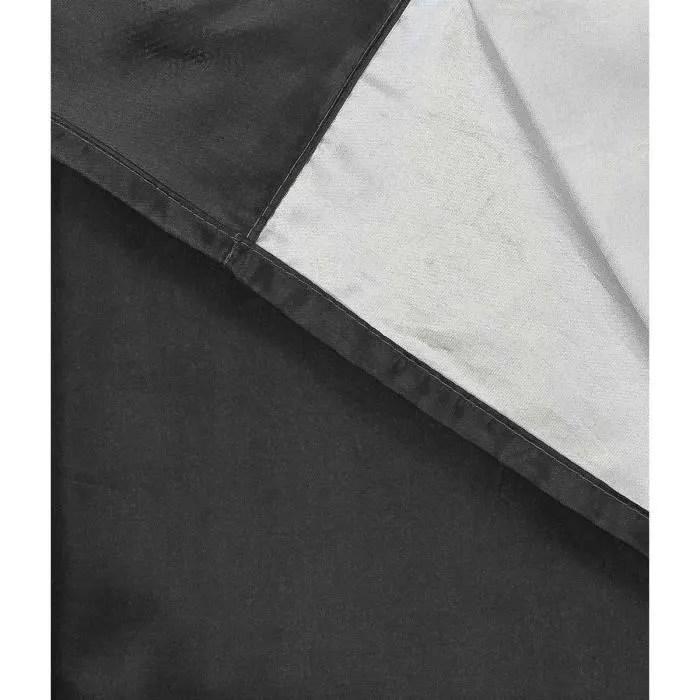 tissu doublure obscurcissant et thermique noir 1 4
