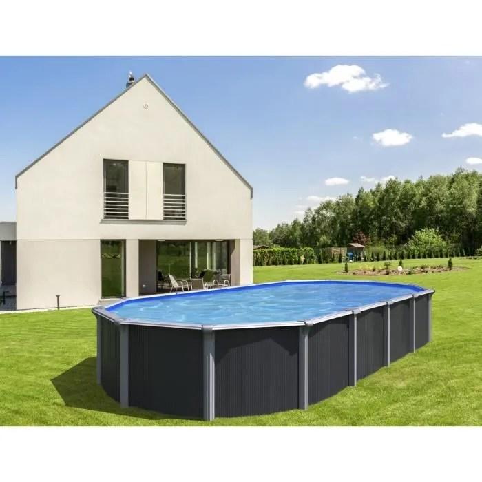 piscine ovale metal hors sol 5 20 x 3