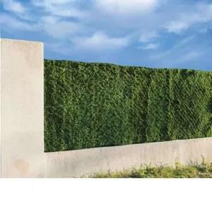 haie artificielle 1m20 cdiscount jardin