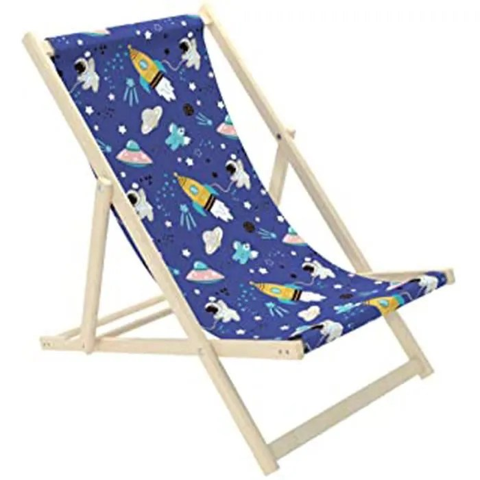 chaise longue pour enfant en bois pliable chaise l