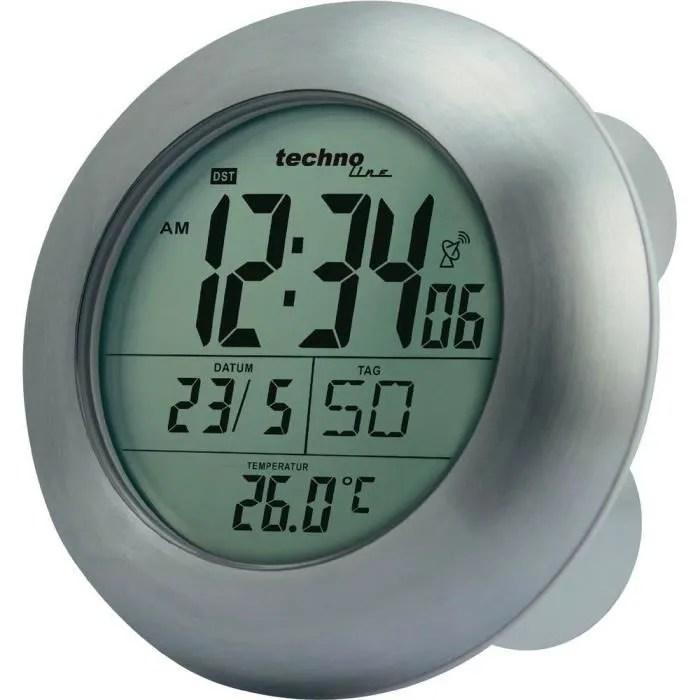 Horloge Radio Pilotee De Salle De Bain Technoli Achat Vente Horloge Pendule Soldes Sur Cdiscount Des Le 20 Janvier Cdiscount