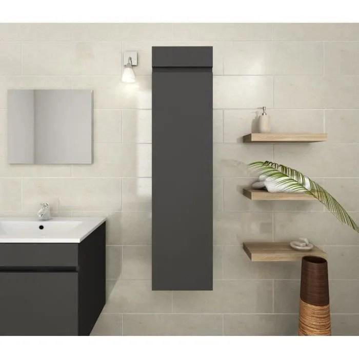 colonne salle de bain gris