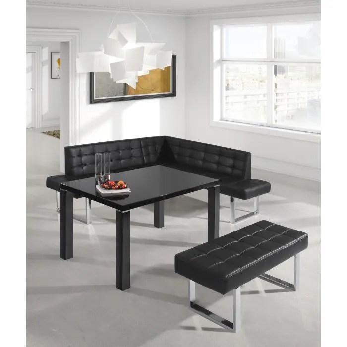 banquette angle gauche coin repas pu