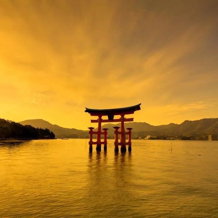 brio toile zen imprimee d un paysage