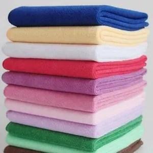lot de 10 serviettes de bain
