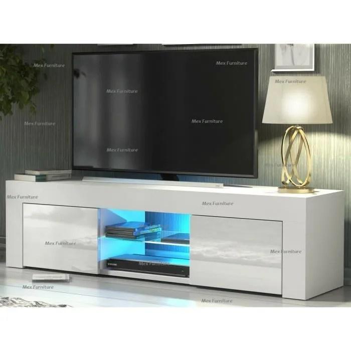 meuble tv meuble de salon nouveau 130 cm bl