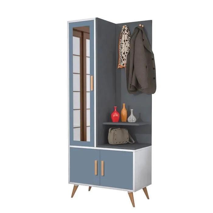 design safir l 75 x h 180 cm gris