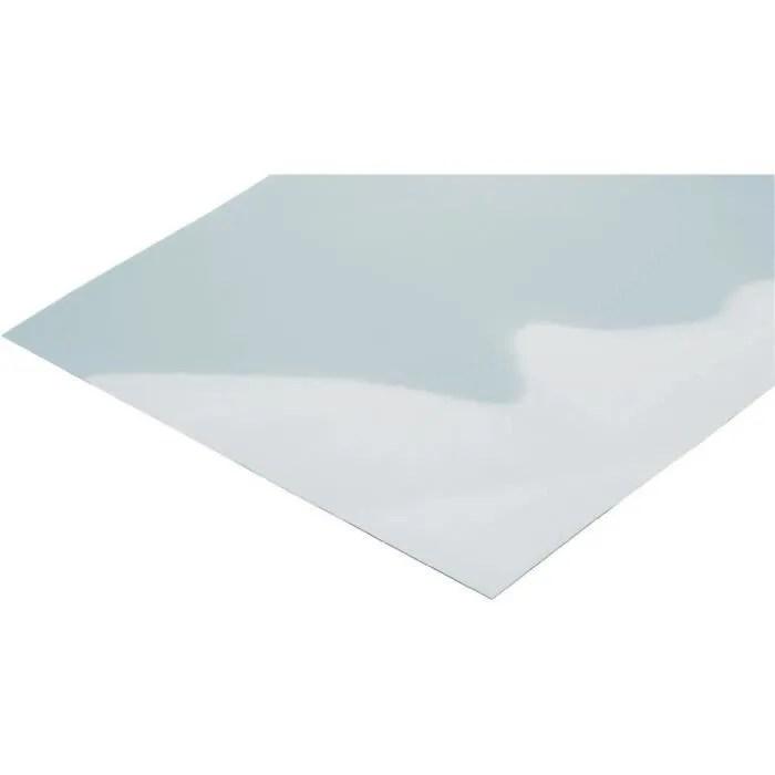 plaque polycarbonate transparent 400 x 500 x 1 5 mm modelcraft