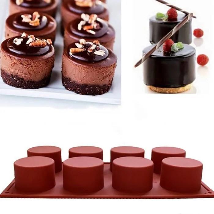 moule a savon moule a gateau rond silicone flexible moule a biscuit moule a chocolat bonbon pan1478