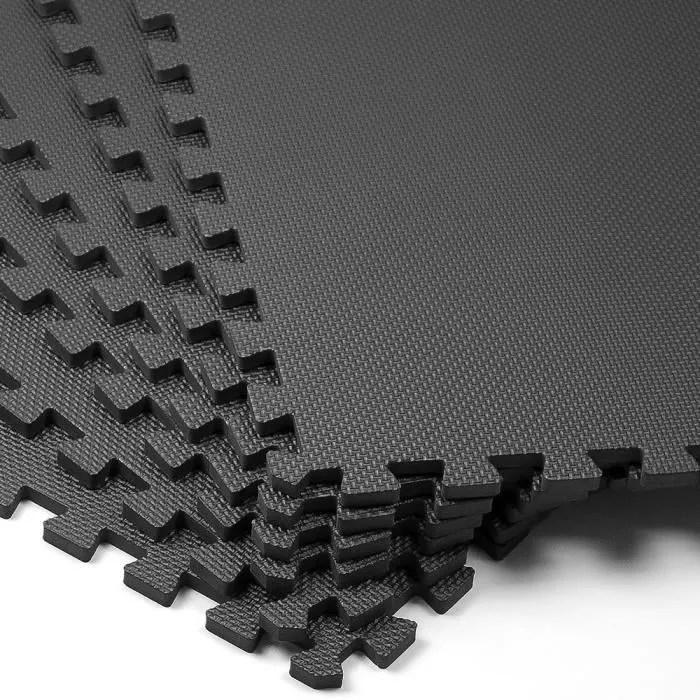 ensemble de 6 tapis mousse de sol 183 5 x 123 5cm
