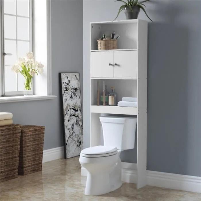 meuble dessus toilette