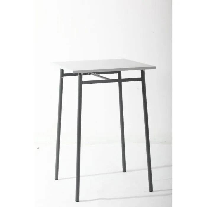 table haute d exterieur hesperide cayey gris