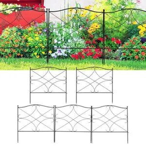 bordure jardin metal