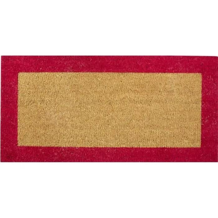tapis coco sur mesure bord couleur h23