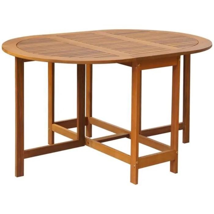 table en bois pour exterieur