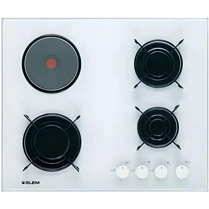 plaque de cuisson gaz 60 cm 3 foyers