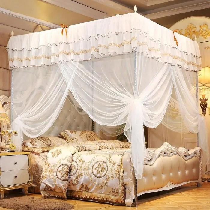 moustiquaire de lit rideau de lit a baldaquin de l