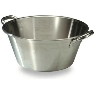 bassine a gras d 65 cm aluminium