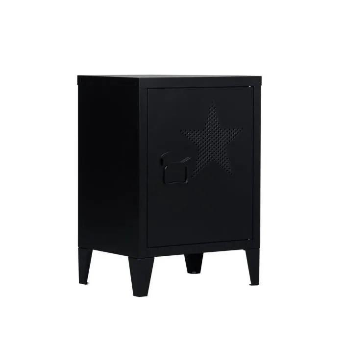 furniturer table de chevet meuble de rangement 2 e