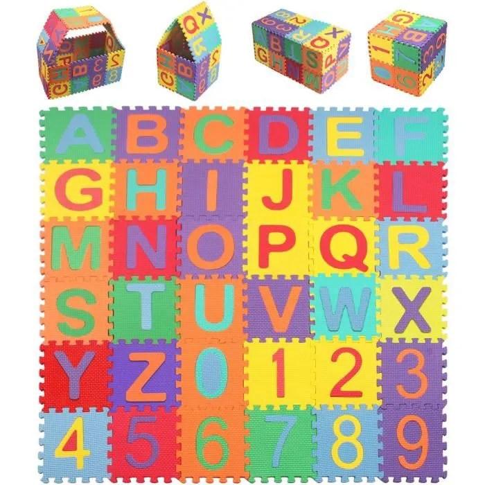 stillcool 36pcs puzzle tapis mousse 15 5x15 5cm j