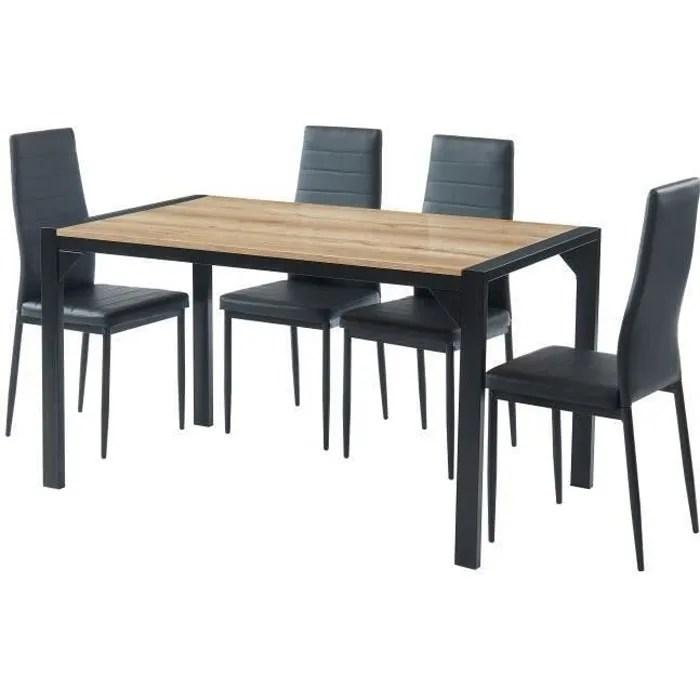 table extensible avec chaise