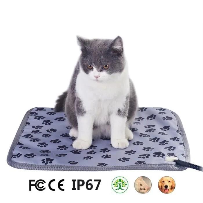 tapis chauffant pour animaux de compagnie tapis ch