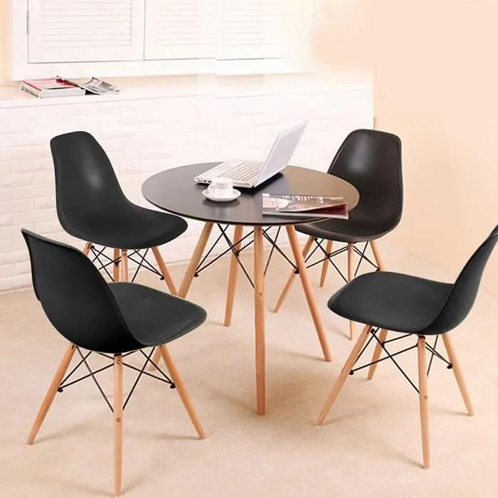 table ronde avec chaises pour 2 personnes
