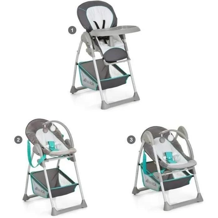 hauck chaise haute evolutive 2 en 1 sit n relax hearts
