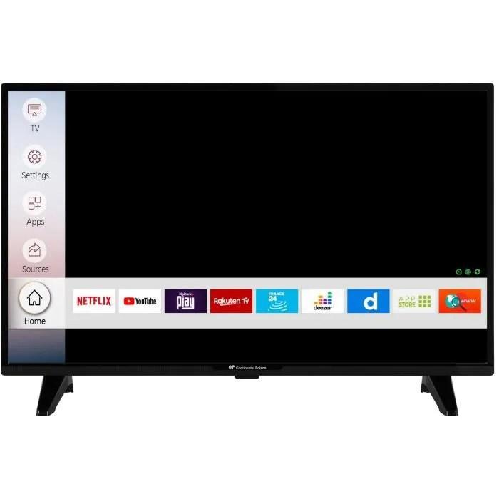 continental edison smart tv led 32