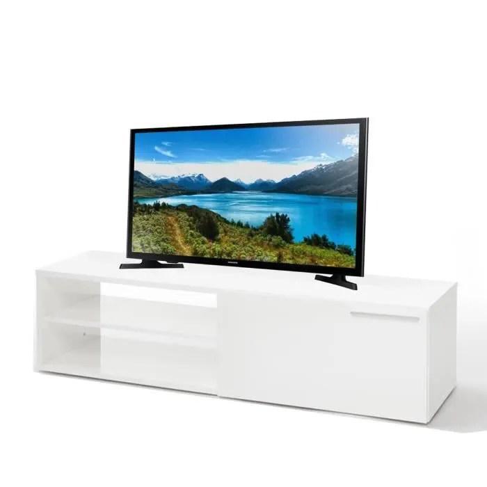 ensemble meuble tv 130 cm blanc