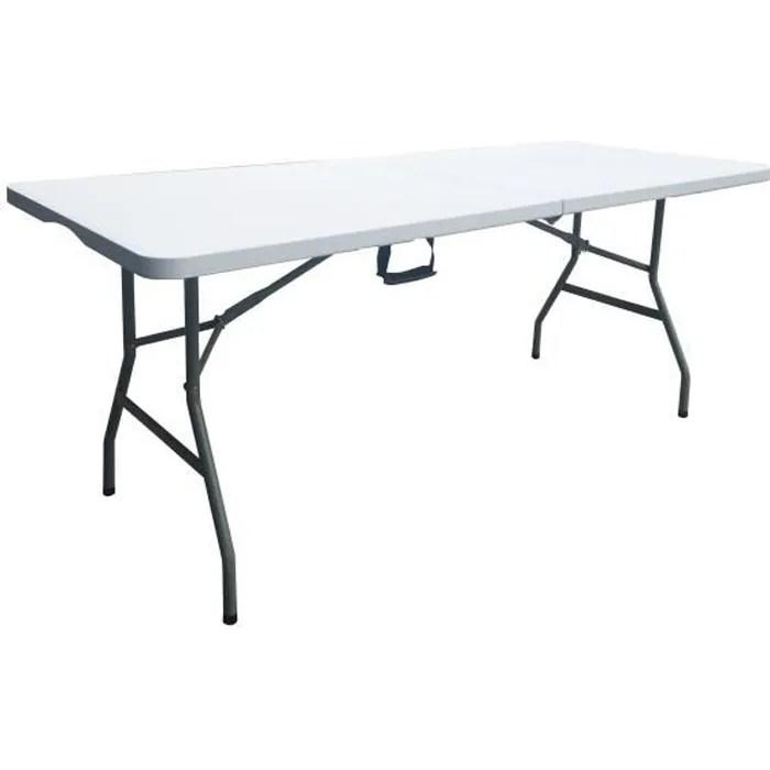 table de reception traiteur pliante 8 personnes