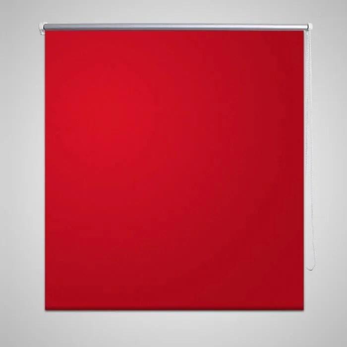 60 x 120 cm store enrouleur rouge