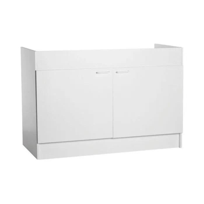 meuble sous evier de cuisine 120 cm