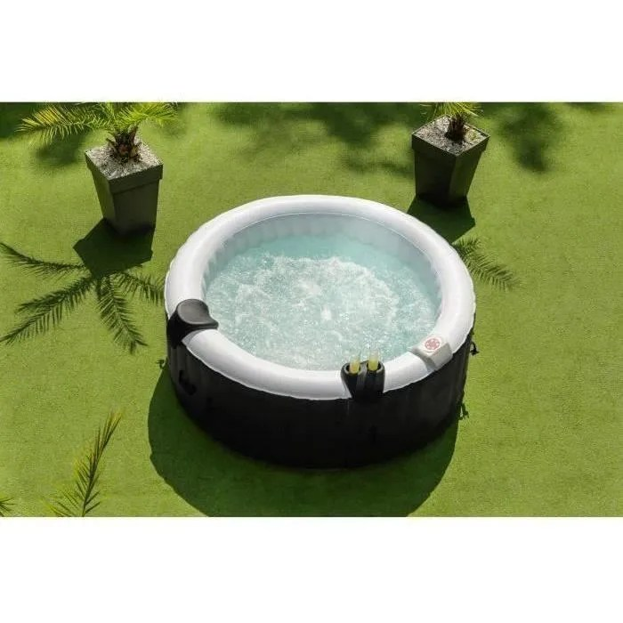 https www cdiscount com jardin jacuzzi sun spa spa gonflable rond lamine 4 personnes f 1633002 sun3700684107107 html
