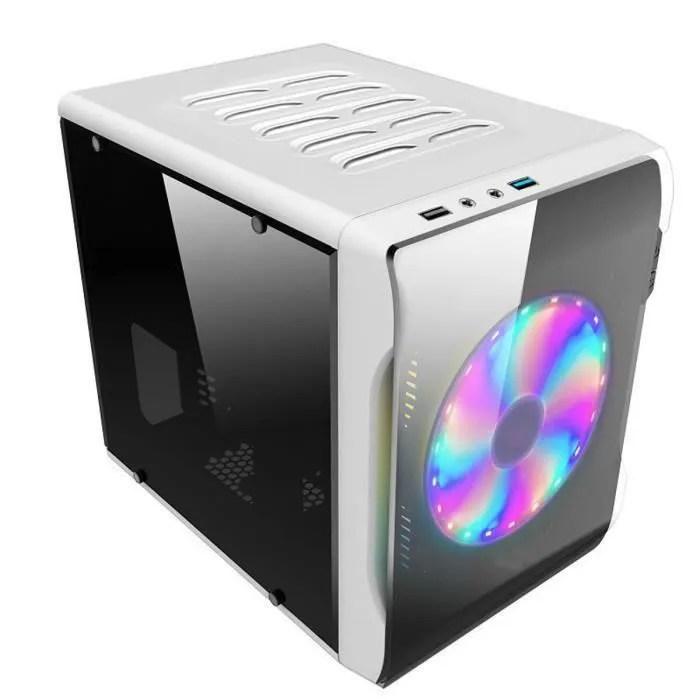 ss 33 tempsa mini boitier pc itx cote transparent