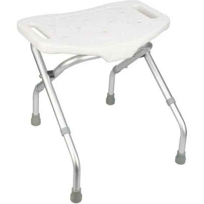 siege de douche chaise de baignoire tabouret regl