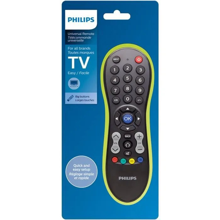 telecommande philips tv