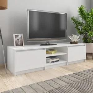 meuble hifi blanc